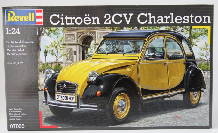 Schuco Piccolo citroen 2 CV Charleston