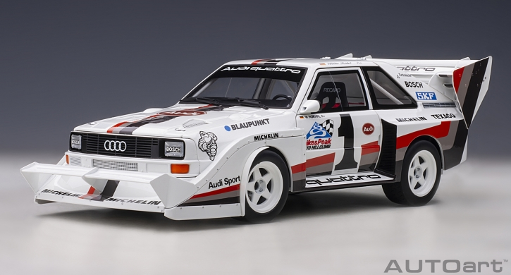 Audi Quattro S1 Pikes Peak Winner 1987 Walter Röhrl