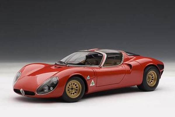 Autoart Alfa Romeo 33 Stradale Prototype