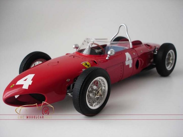 CMC Ferrari Dino 156 F1 #4 Phil Hill, Sharknose, Spa, GP Belgique 1961,1:12, limitée 500 pièces