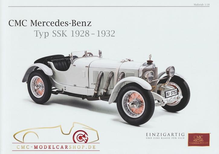 CMC modèles brochure Mercedes-Benz SSK, 1928-1932