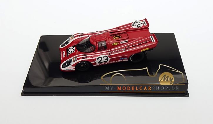 Autoart Porsche 917K signiert Hans Herrmann, Le Mans Sieger 1970