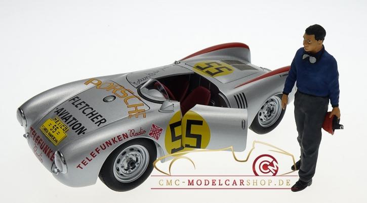 Figurenmanufaktur Figure Hans Herrmann 1:18, Porsche