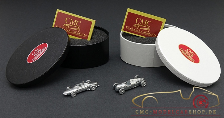 CMC Set Ferrari 156 F1 Sharknose + Auto Union Typ C, anniversary model 15 Years CMC