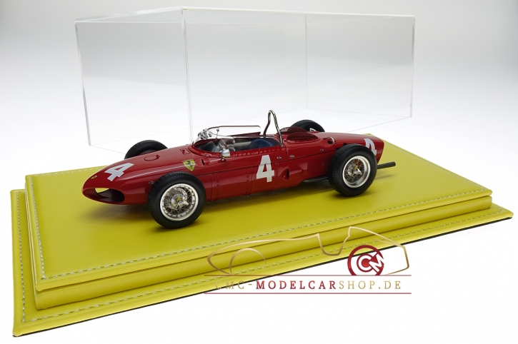 Atlantic vitrine Mulhouse leather yellow, 1:18 model cars
