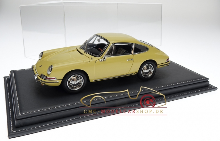 Atlantic vitrine Mulhouse leather anthracite, 1:18 model cars