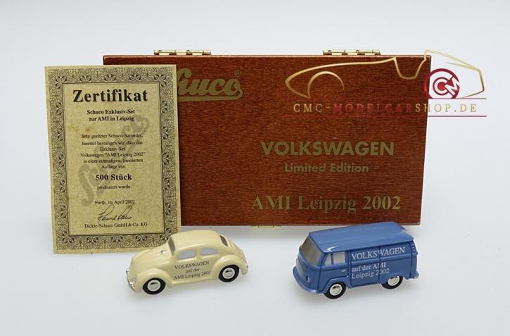 Schuco Piccolo Set Volkswagen AMI Leipzig 2002