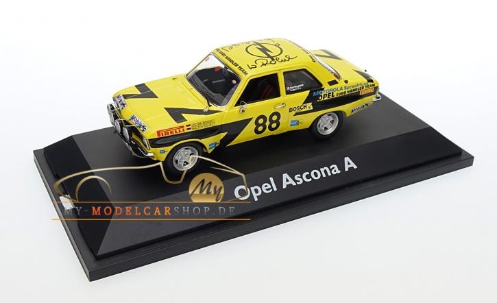 Schuco Opel Ascona A sign. Walter Röhrl / Jochen Berger