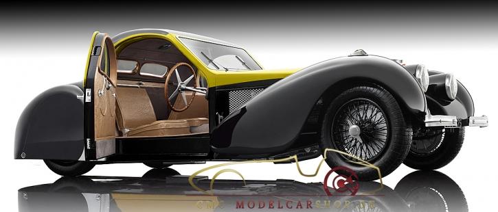Bauer Exclusive Bugatti Typ 57SC Atalante 1937 Gelb