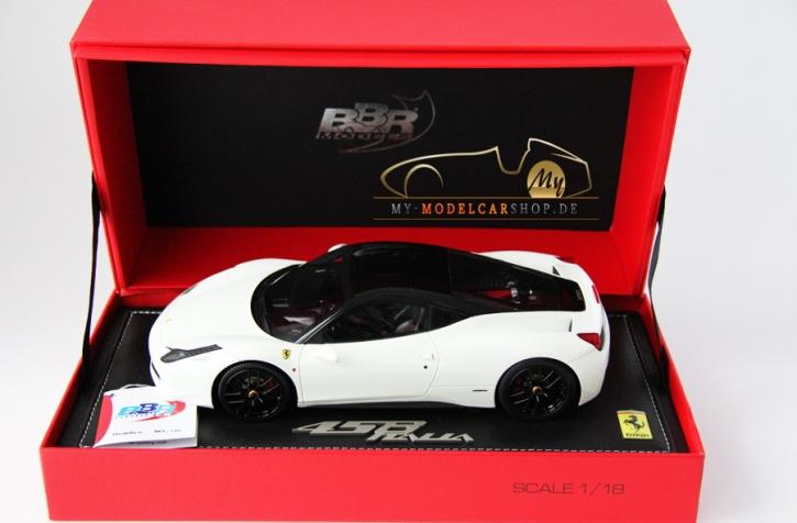 BBR Ferrari 458 Italia blanc