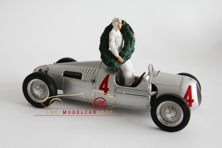 Figutec Bernd Rosemeyer, figurine 1:18, Auto Union 1936