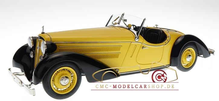 CMC Audi Front 225 Roadster, 1935, noir/jaune