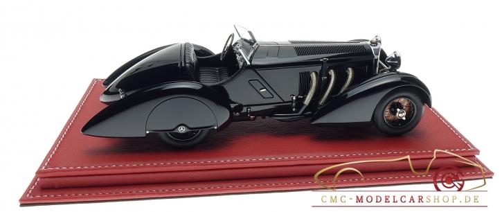 """CMC Mercedes SSK """"Le Prince Noir"""" incl. Atlantic vitrine"""