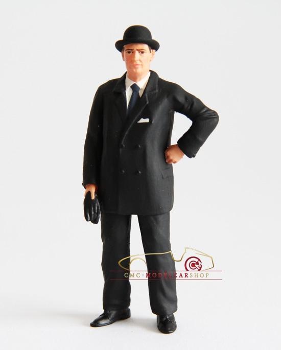 Figutec Ettore Bugatti 1:18 figurine
