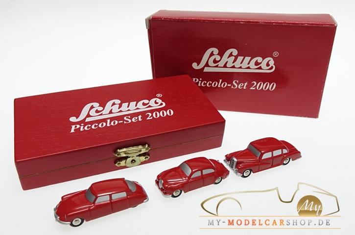 Schuco Piccolo Jahresset 2000