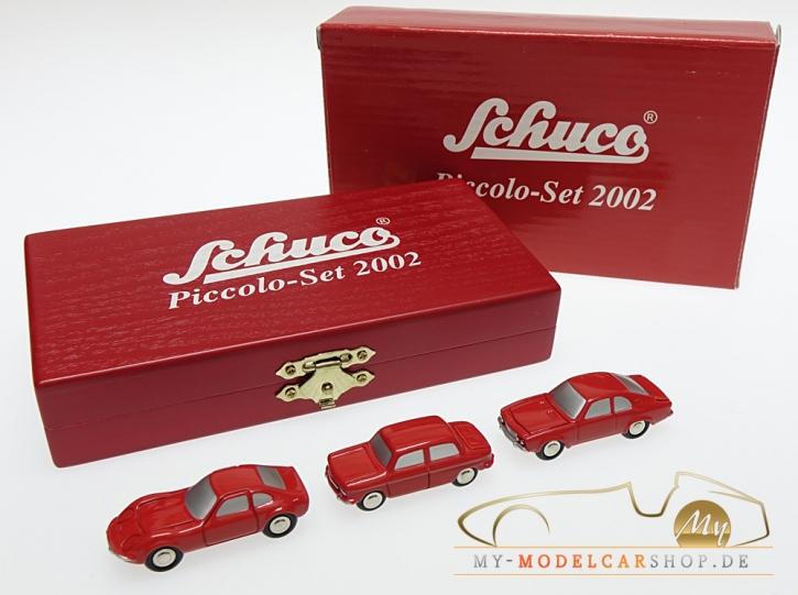 Schuco Piccolo Jahresset 2002