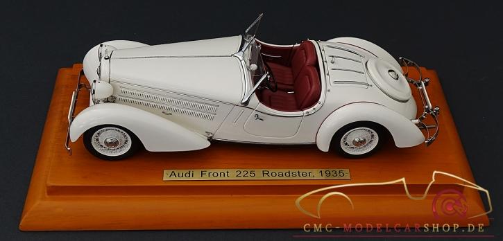 "CMC Audi Front 225 Roadster, 1935, weiss, Leder rot, Jubiläumsmodell ""100 Jahre Audi"", Sonderauflage 50 Stück, Zertifikat-Nr. 1 bis 50 !!"