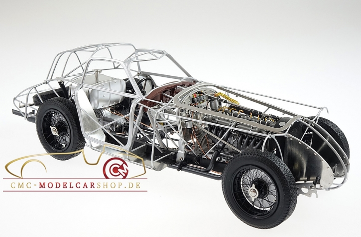 CMC Alfa Romeo 8C 2900 B, 1938 Rolling Chassis wood plate included
