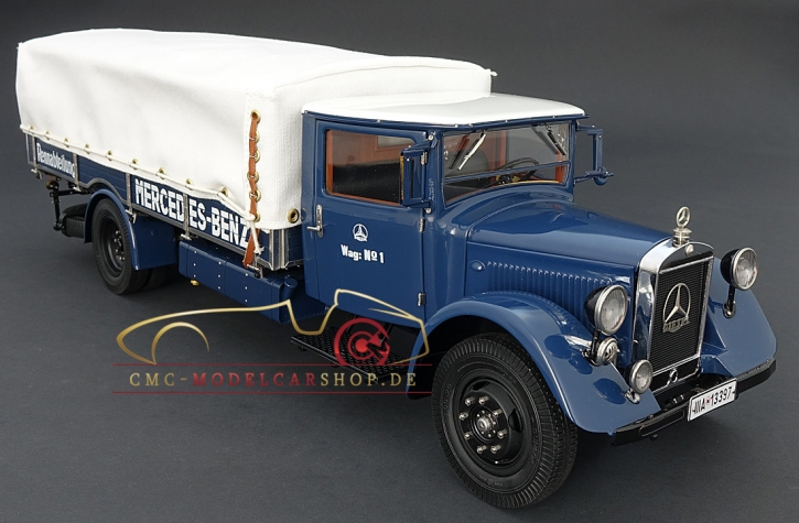 CMC Mercedes-Benz Racing Car Transporter LO 2750, 1934-38