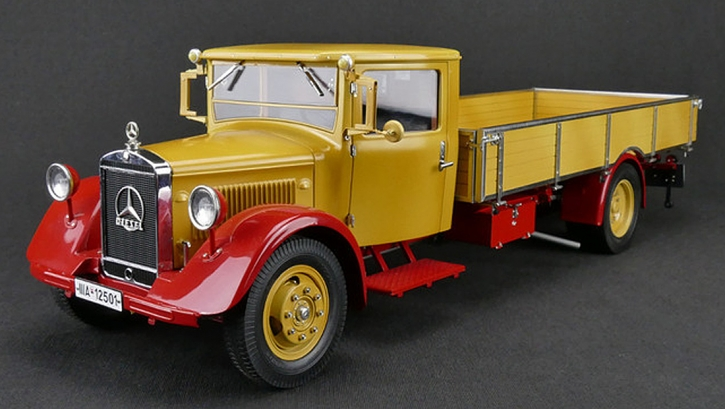 CMC Mercedes-Benz LO 2750, 1934-38 Platform Truck