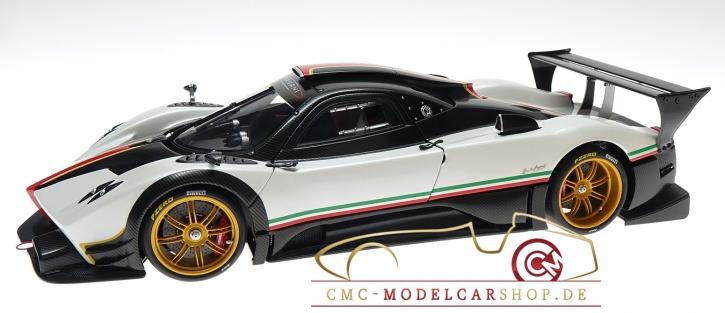 AUTOart Pagani Zonda R white italien stripes