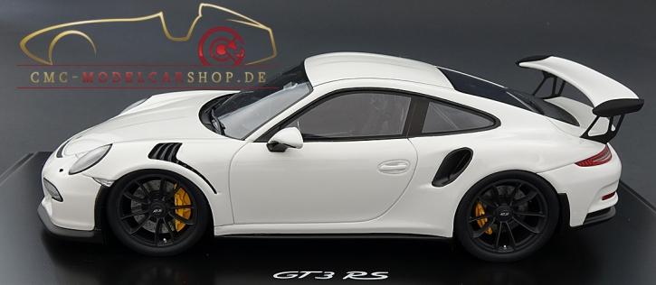 Porsche 911 (991) GT3 RS weiss, Spark, Limitiert 300, Ausstellung Berlin