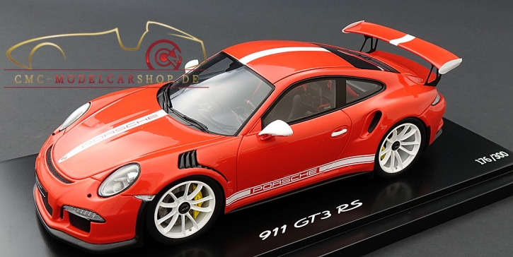 Spark Porsche 911 (991) GT3 RS orange IAA 2015, Limited 300