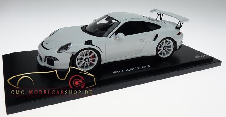 Porsche 911 (991) GT3 RS Weiss, Limitiert 500, Porsche Exclusive Manufaktur