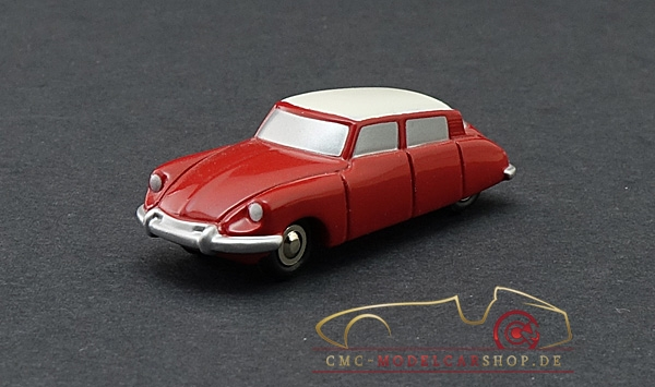 Schuco Piccolo Citroen DS rot/weiss Vorserienmodell, 1:87
