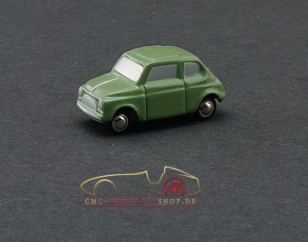 Schuco Piccolo Fiat 500 grün Vorserienmodell, 1:87