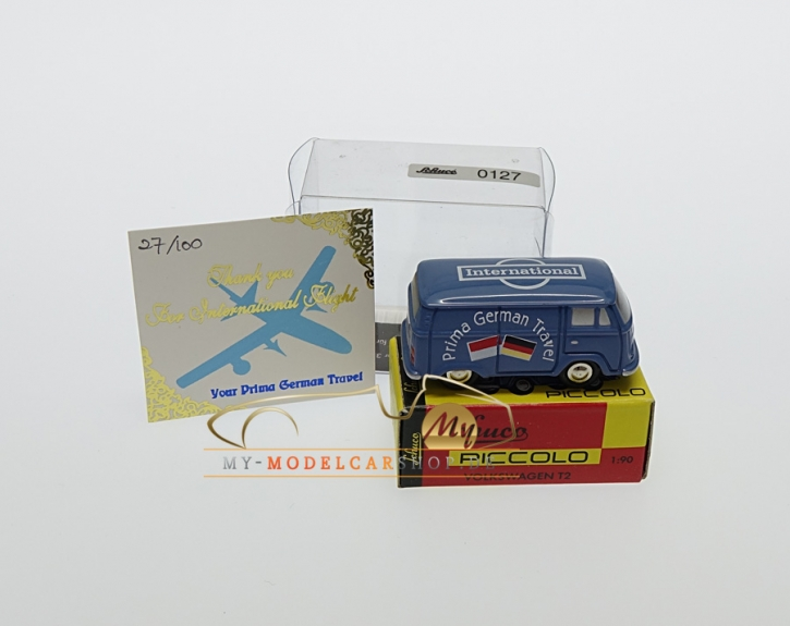 Schuco Piccolo VW T2 International, Prima German Travel, Fake