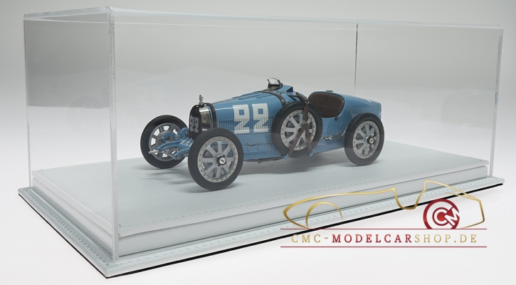 Atlantic Vitrine Mulhouse leather white 1:18 model cars