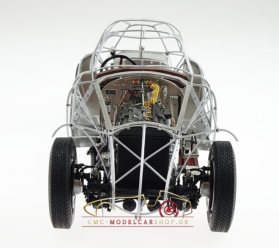 CMC Alfa Romeo 8C 2900 B, 1938 Rolling Chassis Wood Plate