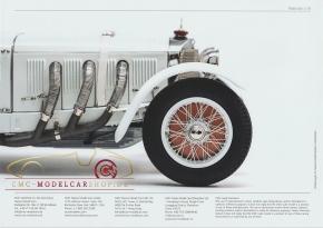 CMC Modell Prospekt Mercedes-Benz SSK, 1928-1932