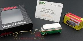 Schuco Piccolo VW T1 WWK Insurance, Agency Loubaresse & Partner
