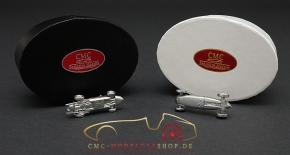 CMC Set Ferrari 156 F1 Sharknose + Auto Union Typ C, anniversary model 15 Years CMC