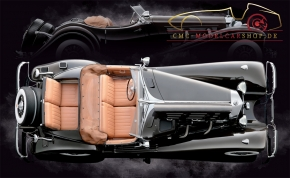 Bauer Exclusive Mercedes 500 K Spezial Roadster 1:12