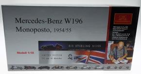 CMC Mercedes-Benz W196, Sir Stirling Moss, Signatur Edition Diorama
