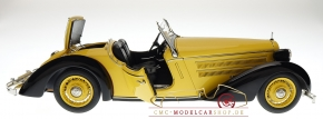 CMC Audi Front 225 Roadster, 1935, schwarz/gelb