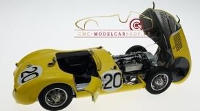 CMC Jaguar C-Type 1953 gelb Ecurie Francorchamps 24H France #20 Roger Laurent/Charles de Tornaco