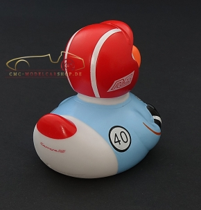 Porsche Museum Rubber duck 911 Carrera RS 2,7 helmet red