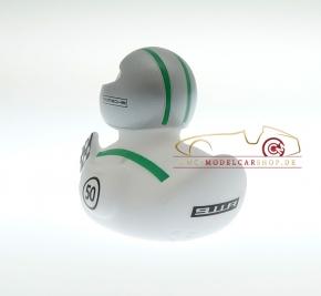 Porsche Museum Ente 911R 2017, Helm silber