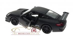 Welly Porsche 911 GT3 RS, matt schwarz, Porsche Museum