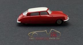 Schuco Piccolo Citroen DS rot/weiss Vorserienmodell, 1:87