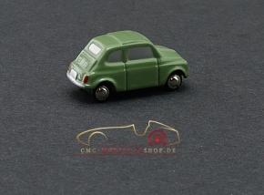 Schuco Piccolo Fiat 500 green Vorserienmodell, 1:87