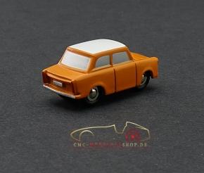 Schuco Piccolo Trabant, orange/white Vorserienmodell, 1:87