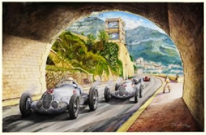 The tunnel at Monaco