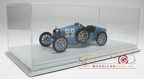 CMC Bugatti T35 #22 GP Frankreich incl. Atlantic Vitrine